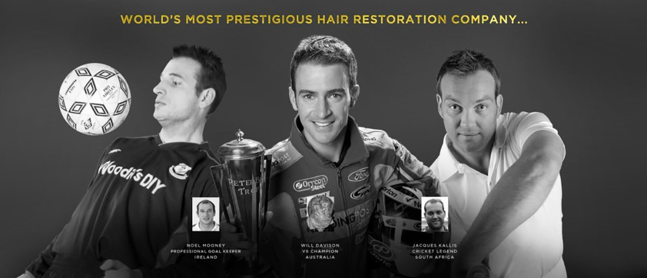 Hair replacement treatments for celebrities