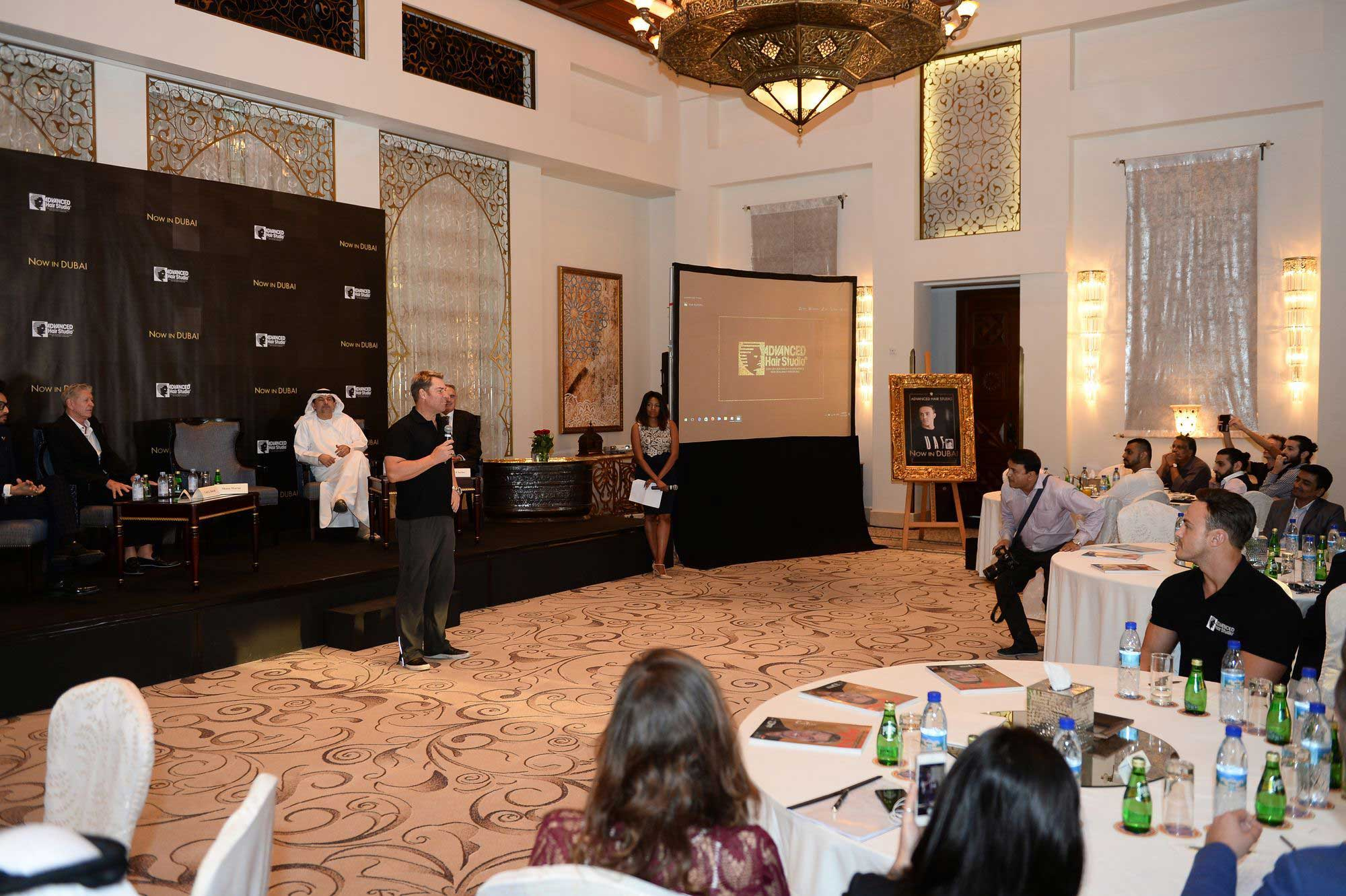 Advanced hair studio dubai media launch