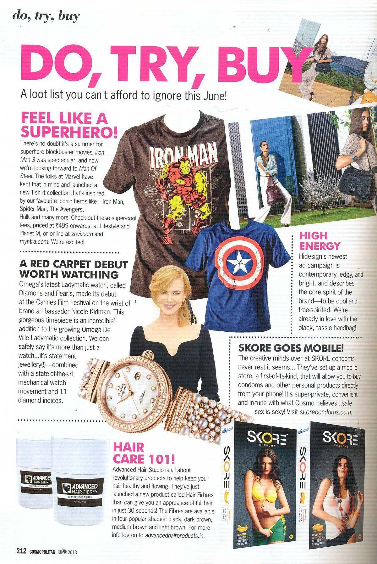 Cosmo June 2013
