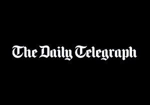 dailytelegraph logo on hair treatments by AHS