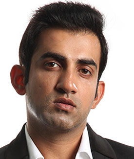 after hair loss treatments Gautam Gambhir