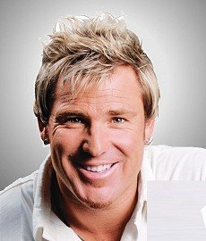 Hair replacement treatment of Shane Warne