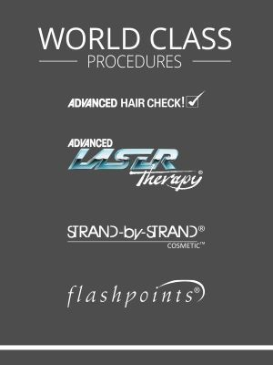 Hair replacement treatments by Advanced Hair Studio
