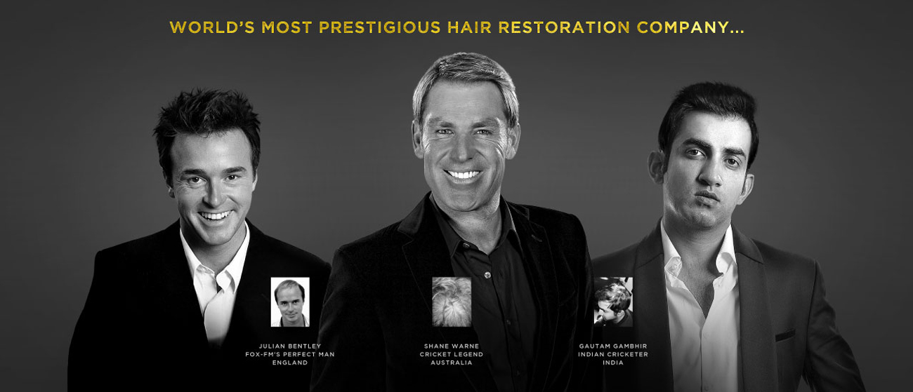 World most prestigious hair replacement company
