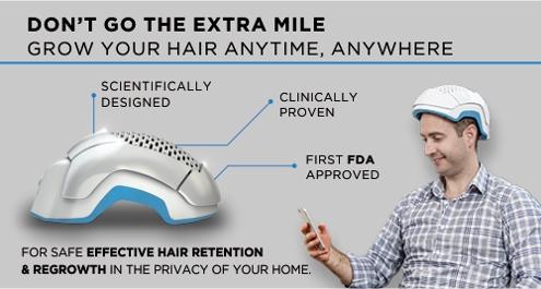 Do not go an extra mile.  Grow your hair anytime, anywhere.