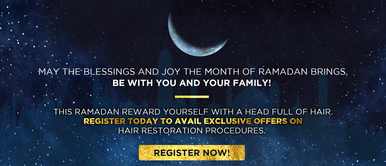 Eliminate hair loss on this month of Ramadan