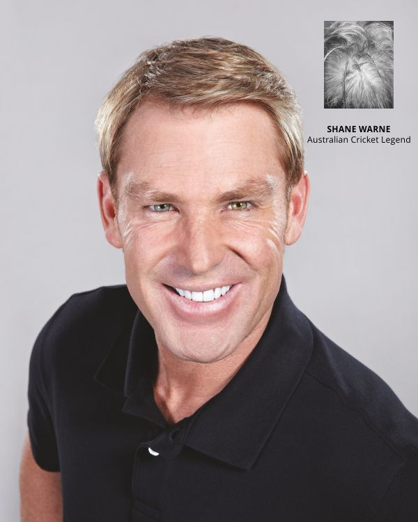 Hair replacement treatments strand by strand Shane warne