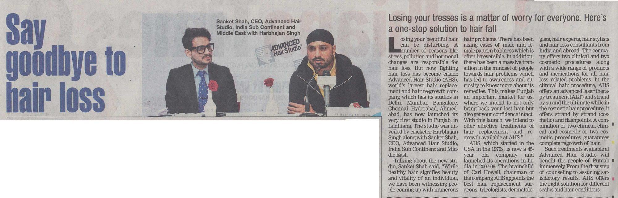 Times Of IndiaLudhiana Page No 6 Dec 15 AHS Ludhiana