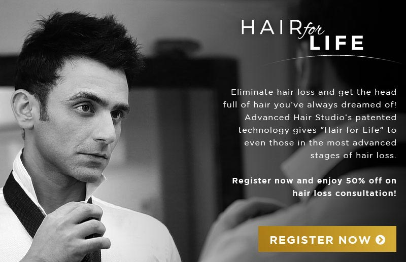 Eliminate hair loss